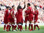 利物浦3-0伯恩茅斯,萨拉赫联赛30球,马内、菲尔米诺破门