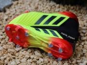 阿迪达斯世界杯配色Preator 18+足球鞋实物曝光