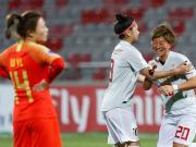 遗憾!中国女足1-3日本女足无缘亚洲杯决赛,李影点射破门