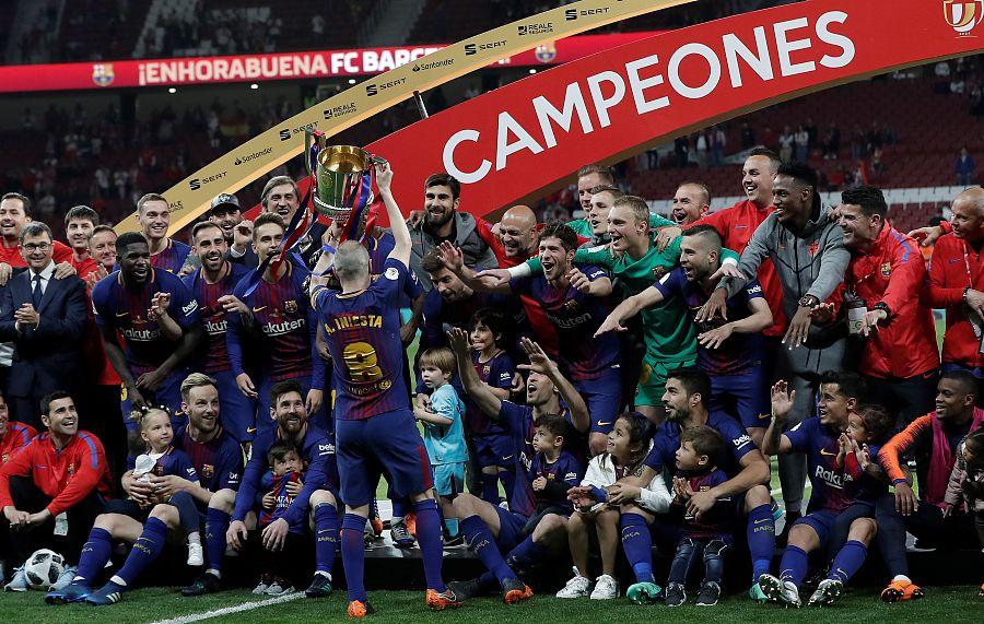 30次,巴萨是欧冠五大联赛国内杯赛冠军之王