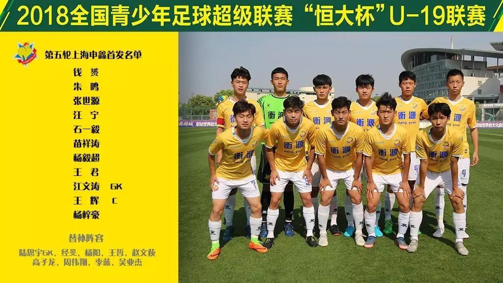 青超联赛第五轮战报丨上海申鑫1-1战平河北华夏