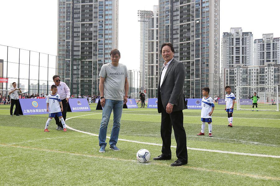 朱广沪:小球员需要比赛来提高
