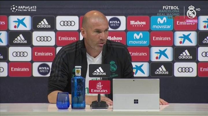 齐达内:伤员都能赶上欧冠决赛