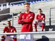 Hummel发布丹麦国家队2018世界杯主客场球衣