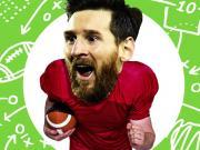 跨界梅吹:如果梅西玩橄榄球,也能成为史上最佳吗?