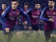 耐克发布巴塞罗那2018/19赛季主场球衣
