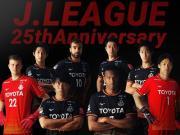 名古屋逆戟鲸发布J联赛25周年纪念限定球衣