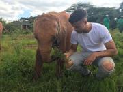 我矿迪桑托一直都致力于对野生动物的保护,呼吁大家