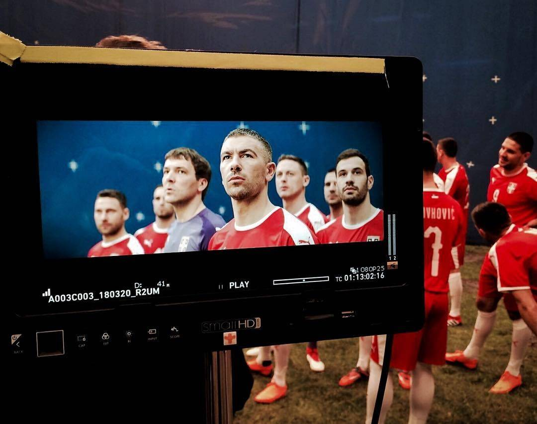 PUMA發佈塞爾維亞國傢隊2018世界杯主場球衣 — 塞