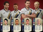 FIFA 18世界杯模式传奇17人评分:贝利98,中田英寿86
