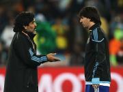 卡尼吉亚:阿根廷队友对梅西的支持不及马拉多纳