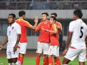 国足1-0缅甸,武磊破门又中柱,黄紫昌首秀两度错失良机