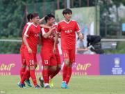 土伦杯首战U21国足1-2英格兰U21,严鼎皓头球吊射破门