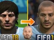 FIFA 19新脸型:光头版大卫席尔瓦