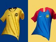 马来亚虎!马来西亚国家队2018赛季主客场球衣发布!
