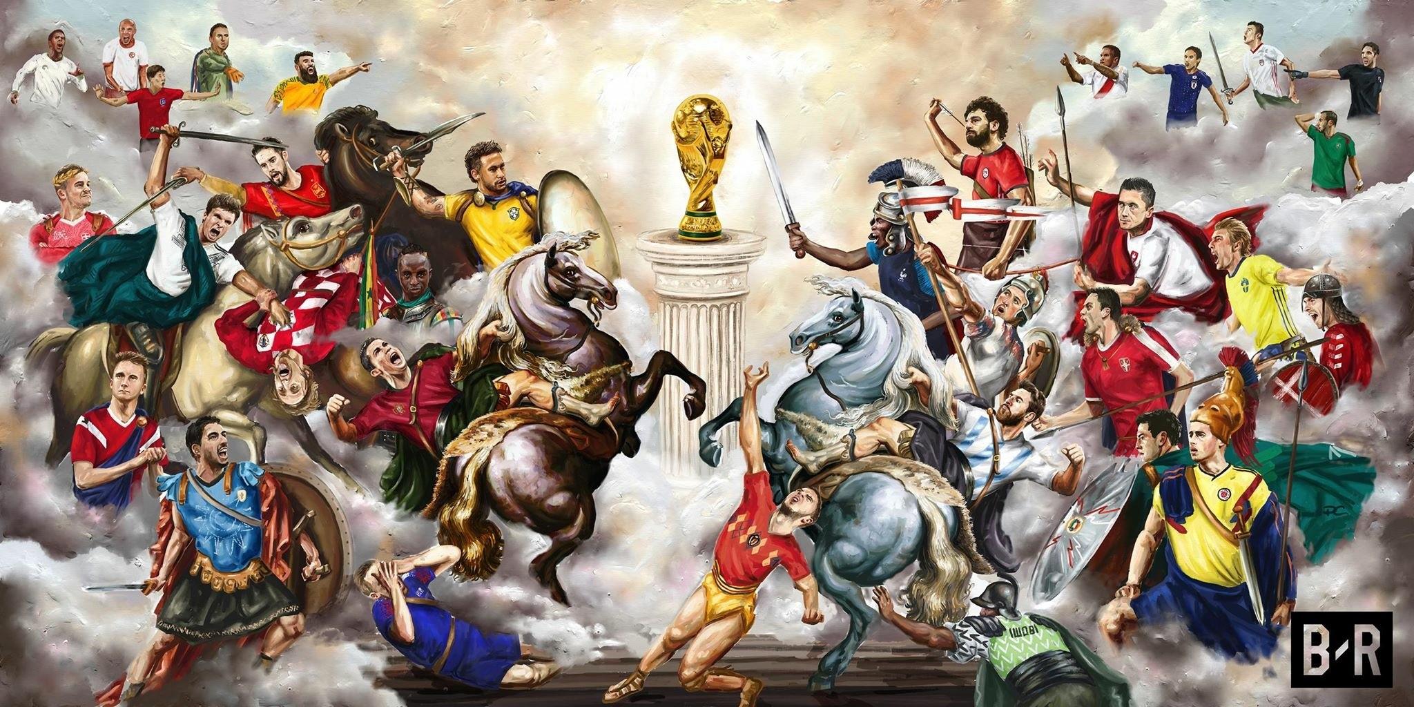 国外也有段子手:盼望着,夏天来了,世界杯的
