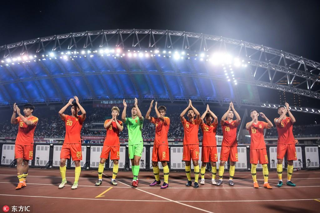 内部教学赛,U23国足0-1不敌纳米比