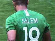 尴尬,沙特球员球衣号码印反了