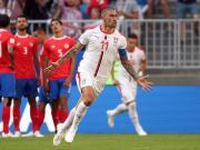 哥斯达黎加0-1塞尔维亚,科拉罗夫圆月弯刀,纳瓦斯屡献神扑