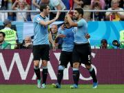 乌拉圭1-0沙特提前出线,下轮战俄罗斯争头名,苏亚雷斯制胜