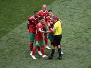 摩洛哥前锋:裁判向C罗要球衣