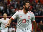 西班牙1-0伊朗,下轮拿分即可出线,科斯塔破门