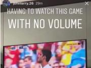 静音看比赛,特里被骂性别歧视