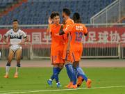 鲁能热身1-2仁川联,佩莱破门