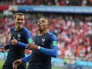 法国1-0秘鲁提前出线,姆巴佩破门创历史,洛里百场收获零封