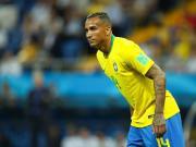 巴西足协官方:达尼洛受伤缺阵