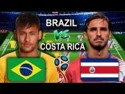 FIFA 18预演巴西vs哥斯达黎加:继续1-0?追平或有惊喜