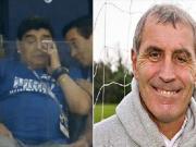 """86年被马拉多纳的""""上帝之手""""进球的门将:阿根廷输了真高兴"""