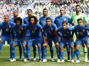 全蓝队服出战,巴西此前1胜1负