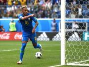 巴西队史第三,内马尔已进56球