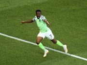 打进4球,穆萨成为尼日利亚世界杯最佳射手