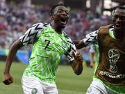 图集:尼日利亚获完胜,大狙失点垂头沮丧,穆萨狂欢庆祝