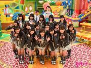 为日本国家队加油,山本彩领衔NMB48参加节目了解足球知识