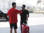 上港夏训,国脚外援跟球队会合