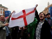 倒霉,一英格兰球迷来到俄罗斯后才发现票落在家中了