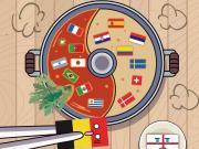 懂球帝球迷海报:清汤还是麻辣?英格兰比利时命运将会如何