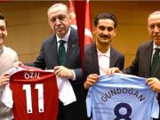 太阳报闹笑话,将土耳其总统退回厄齐尔球衣的假新闻当真