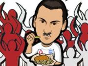 7月9日世界杯漫画日记,我给大家讲个可怕的事情