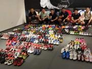 无声无息,如梦如幻,全球首次猎鹰全配色足球鞋展览顺利落幕