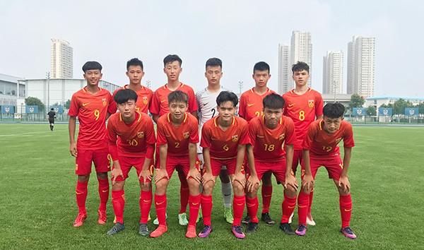 U15集训队选拔赛红队夺冠,将代表国家队参加东