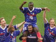 20年前法国2-1克罗地亚,国家队14年2球的图拉姆铁树开花