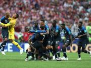平均年龄25.5岁,法国成史上第二年轻冠军球队