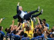 德尚:这个时刻属于球员;欧洲杯失利给了很大教训