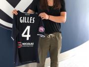 波尔多女足签下加拿大籍后卫Vanessa Gilles...