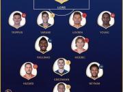 网传世界杯官方最佳阵容:保利尼奥、阿什利-扬入选