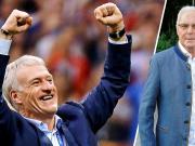 贝肯鲍尔祝贺德尚:欢迎来到球员教练世界杯双冠俱乐部